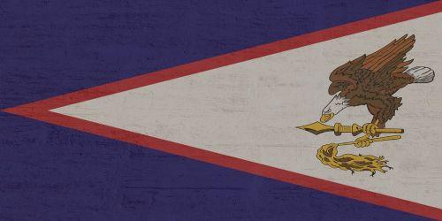 american samoa,vėliava