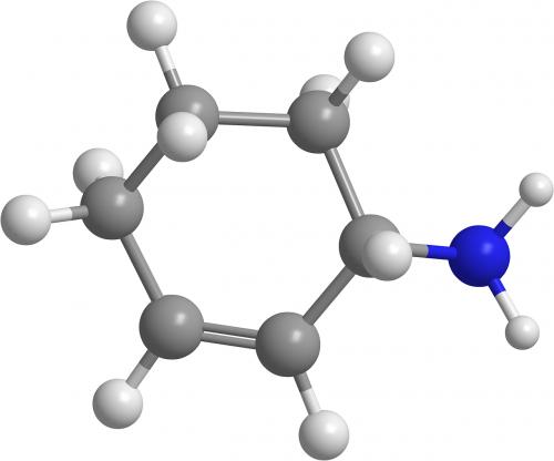 aminociklohekseno,aminai,organinė chemija,3d,mol,molekulės