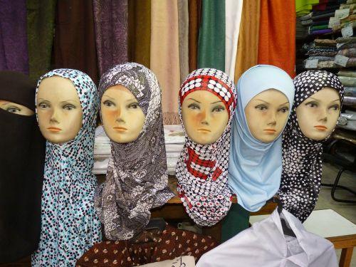 amanas,jordan,orientuotis,uždanga,lėlės,Islamas,galvos skara