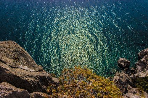 senovės asini,uolos,pasinerti,vandenys,Rokas,istorinis,kraštovaizdis,petra,Graikija,mėlynieji vandenys,aegean,mėlynas