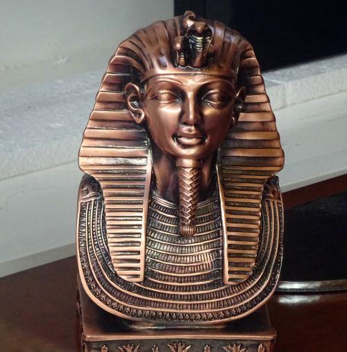 Senovinis, Egiptas, egyptian, faraonai, tutankhamun, ramesses & nbsp, ii, cleopatra, Sfinksas, piramidės, piramidė, statula, statulos, statulėlė, statulėlės, figūrėlė, figūrėlės, keramika, keramika, keramika, porcelianas, vintage, klasikinis, antikvariniai daiktai, senas, victorian, Senovės Egipto faraono statula