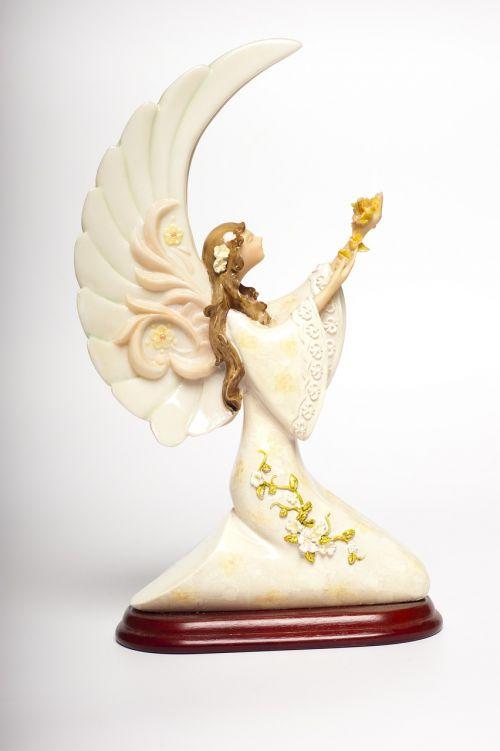angelas,statulėlė,angelo statula