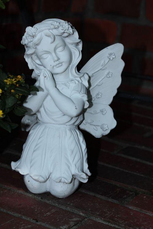 angelas,figūra,statula,moteris,weis,nuleidimas