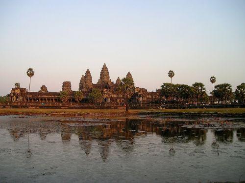 Angkor,wat,Kambodža,šventykla,į pietryčius,asija,taip