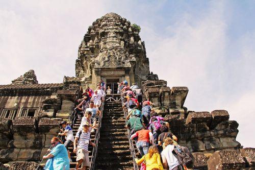 Angkor Wat šventykla,nuostabus,septyni stebuklai,stebuklas,senovės,pasaulis,šventykla,kelionė,Senovinis,senas,filmas,gražus,angkor wat,Siem grižti,Kambodža,asija,architektūra,Khmer,sugadinti,budizmas,akmuo,religija,turizmas,Unesco,paveldas,Angkor,turistinis