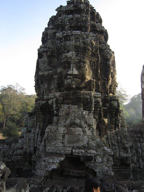 angkothom, Kambodža, angkothom šventykla, šventykla, Pnompenis, Kambodža kelionės, Siemreabas, bokštas