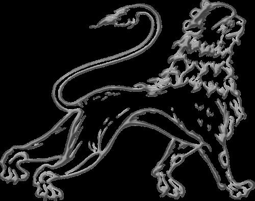 gyvūnas,liūtas,žinduolis,stilizuotas,stilizuotas,nemokama vektorinė grafika