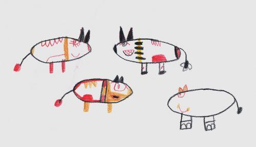 vaikai,vaikų piešimas,flock,piešimas,darželis,vaizdas,pieštukai,komiksas