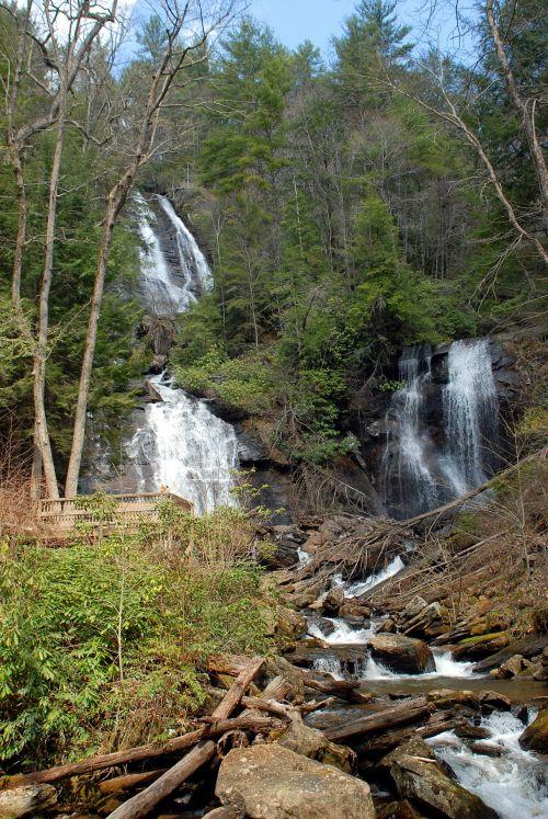 anna & nbsp, ruby, kriokliai, Gruzija, usa, vanduo, žydėjimas, gamta, lauke, kraštovaizdis, vaizdingas, kalnai, Anos rubino kriokliai