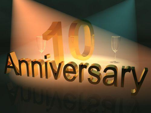 jubiliejus,iškilmingai įvykdytas metines,verslo jubiliejus,10