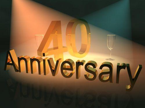 jubiliejus,iškilmingai įvykdytas metines,verslo jubiliejus,40
