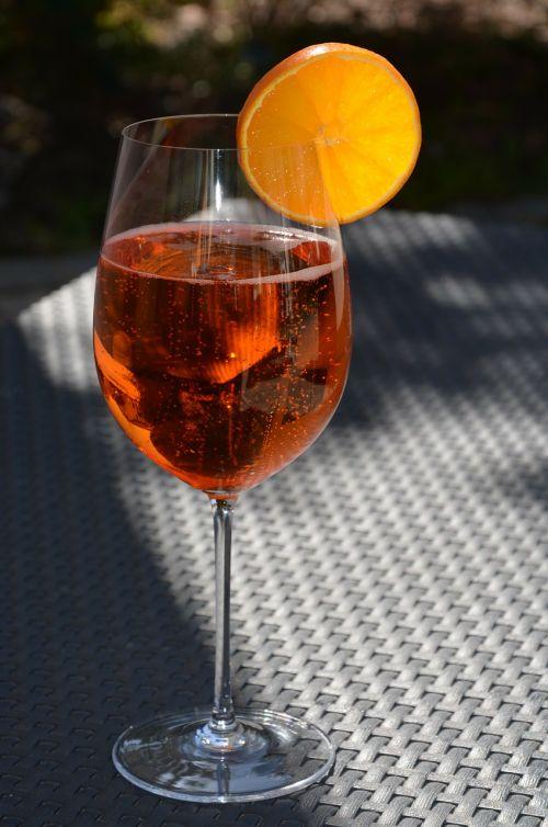 aperolio spritz,vaisių,žolė,gerti,naudos iš,stiklas,aperolis,prosecco,šampanas,atostogos,pažymėtas