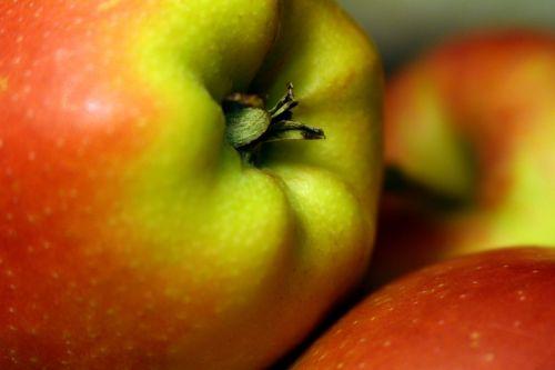 obuolys,Uždaryti,žalias,raudona,maistas,sveikas,vaisiai,kernobstgewaechs,vaisiai,vitaminai,į sveikatą,frisch