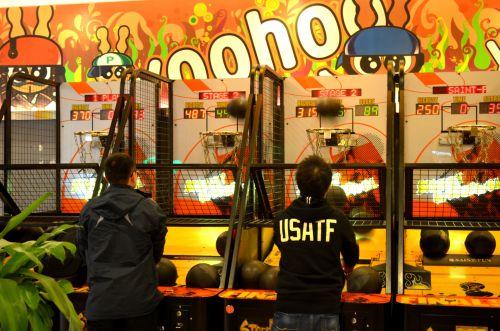 arcade, žaidimas, krepšinis, rezultatas, apyrankės, linksma, arcade