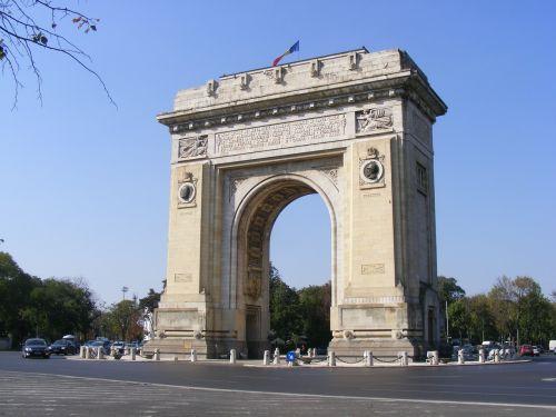 arka,Bukareštas,istorija,triumfas,triumfas,architektūra