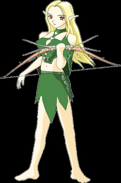 archer,lankas,Elfas,elfas,Moteris,karys,nemokama vektorinė grafika