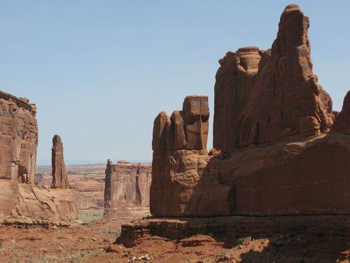 arkos np,usa,Utah,Pietvakarių Usa,Nacionalinis parkas,akmens arka,Rokas