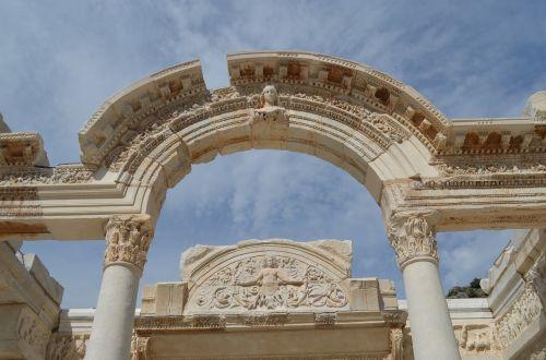architektūra,modelis,Moti,interjero architektūra,Turkija,gražus,dizainas,senas,dekoruoti,kompozicija,motyvas,spalva,Iš arti,efes,Efesas,izmir,selçuk,stulpelis,architektūra,Roma
