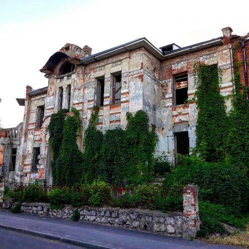 architektūra, senas, pastatas, namas, senovės, sugadintas namas, senas namas, mūrinis mūras, apleistas namas, vynuogynas, be honoraro mokesčio