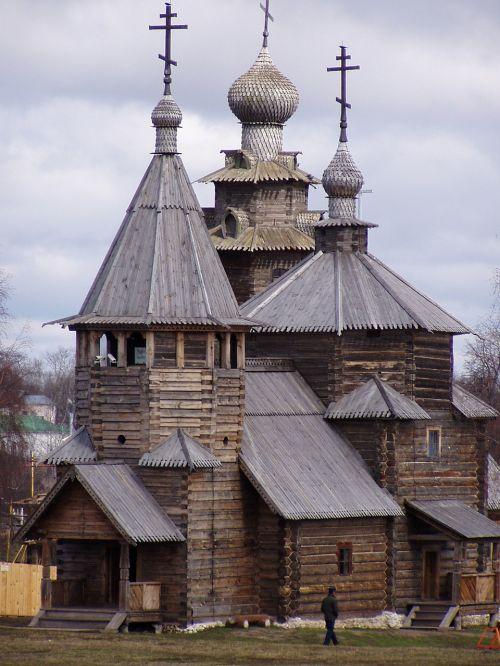 architektūra,Суздаль,medinė architektūra,senoviniai pastatai,katedra,bažnyčia,kupolas,struktūra,istorija,istorinė architektūra