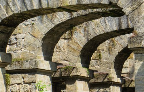 architektūra,arka,šventykla,Senovinis,akmuo,apvali arka,stuetztpfeiler