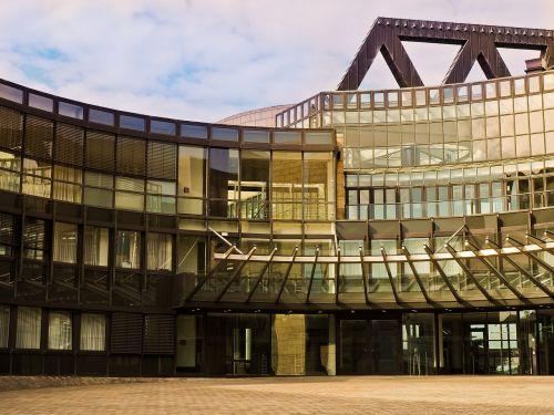 architektūra,fasadas,pastatas,Diuseldorfas,miestas,šiuolaikiška,moderni architektūra,landtag,vyriausybė