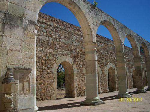 arkos, akmuo, karjeras, senas, bažnyčia, abatija, arkos