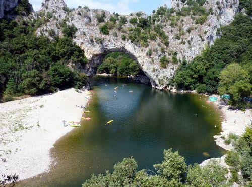 ardèche,france,upė,ardeche tarpeklis,kraštovaizdis,gamta
