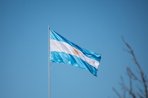 Argentina vėliavos, Argentina, vėliava, vėliavos, Šalis, pilietis, 2018, Lotynų amerikietis, nepriklausomybė, Gegužė, Sportas, mėlynas
