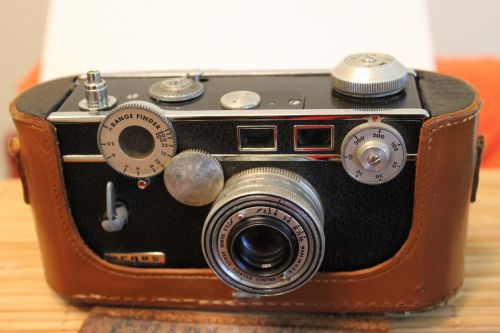 fotografija, fotoaparatai, Senovinis, istorija, argus, plyta, atvejis, argus plyta