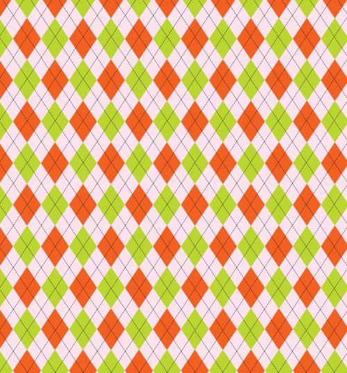argyle, modelis, fonas, tapetai, popierius, oranžinė, žalias, rožinis, dizainas, menas, iliustracija, Scrapbooking, argyle modelio fono paveikslėliai