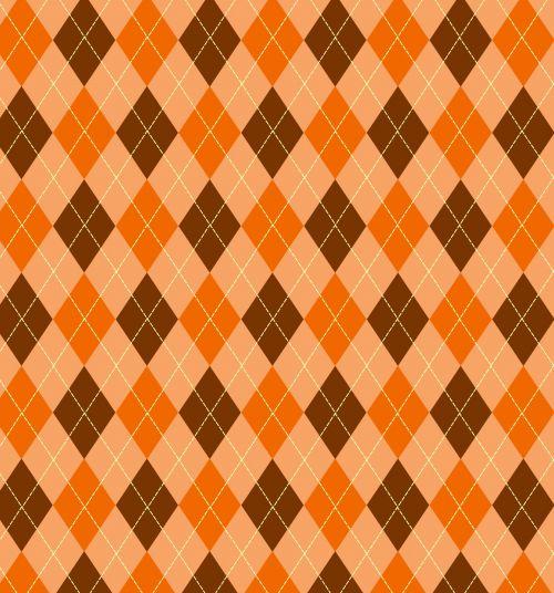 argyle, modelis, fonas, tapetai, ruda, oranžinė, pavyzdys, besiūliai, Scrapbooking, menas, iliustracija, dizainas, Laisvas, viešasis & nbsp, domenas, argyle modelis oranzinis rudas