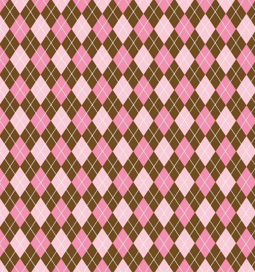 argyle, deimantai, rožinis, ruda, modelis, tapetai, fonas, popierius, pavyzdys, menas, iliustracija, dizainas, Scrapbooking, argyle rausva ruda fone
