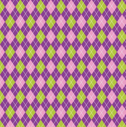 argyle, deimantai, violetinė, žalias, modelis, tapetai, fonas, popierius, pavyzdys, menas, iliustracija, dizainas, Scrapbooking, argyle purpurinė žalia fone