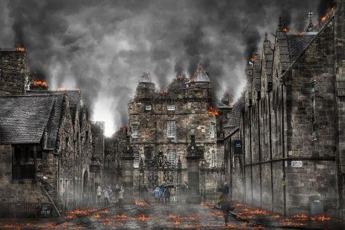 Armagedonas,karas,apokalipsė,sunaikinimas,sprogimas,nelaimė,atominė,branduolinė,pastatas,deginimas,katastrofa,apokaliptinis,nuke,pragaras