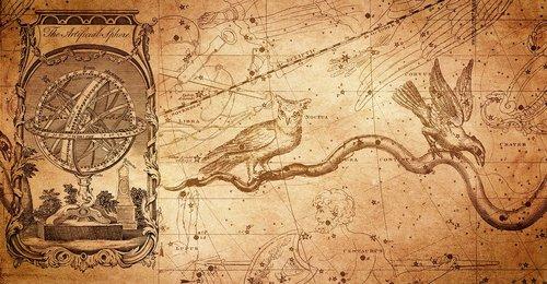 armillar rutulinis, žvaigždynas, žvaigždynas žemėlapis, pelėda, Varnas, Astrologija, erdvė, metai, Vintage, nostalgija, mitologija, Zodiako ženklai, Senovinis, brėžiniai, dirbtinis rutulinis, Zodiako ženklas, zodiako, Horoskopas, fonas, Noctua, dangus, planeta, žvaigždučių Atlas, Nemokama iliustracijos