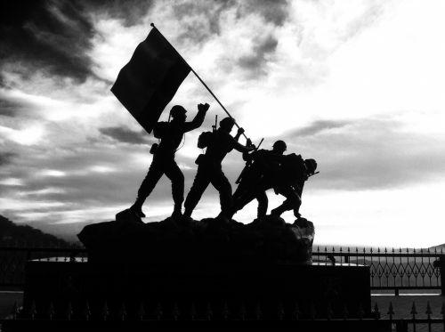 armija & nbsp, vyrai, sveikinimas, trispalvis, užfiksuotas, nacionalinis & nbsp, pasididžiavimas, armija
