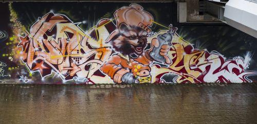 menas,grafiti,siena,Hauswand,spalvinga,gatvės menas,fjeras,modernus menas,dažymas,piešimas,purkšti,meno kūriniai