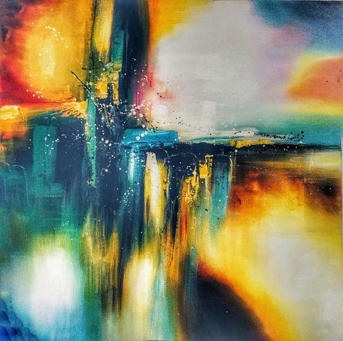 menas,dažymas,abstraktus,Jangonas,burmese,mianmaras