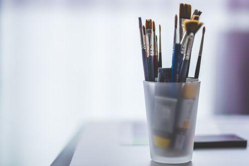 meno medžiagos,blur,konteineris,įranga,aliejiniai dažai,dažymo teptukai,tapybos medžiagos