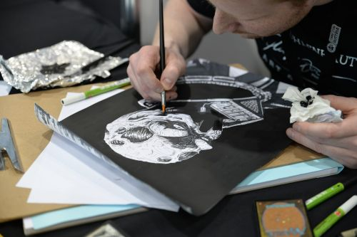 menininkas,piešimas,komiksas,komiksas-con