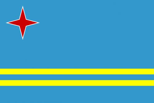 aruba,vėliava,Šalis,ženklas,simboliai,Nyderlandų karalystė,nemokama vektorinė grafika
