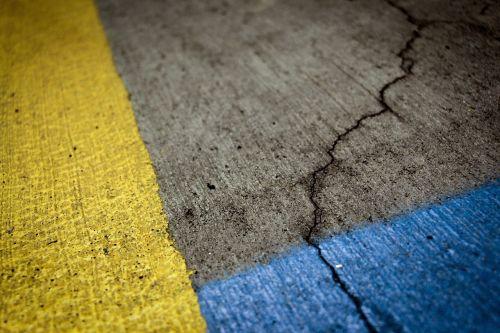 asfaltas,Iš arti,dažyti,kelias