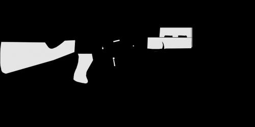 šautuvas,automatinis ginklas,pistoletas,ginklas,karas,žurnalas maitinamas,pusiau automatinis,visiškai automatinis,nemokama vektorinė grafika