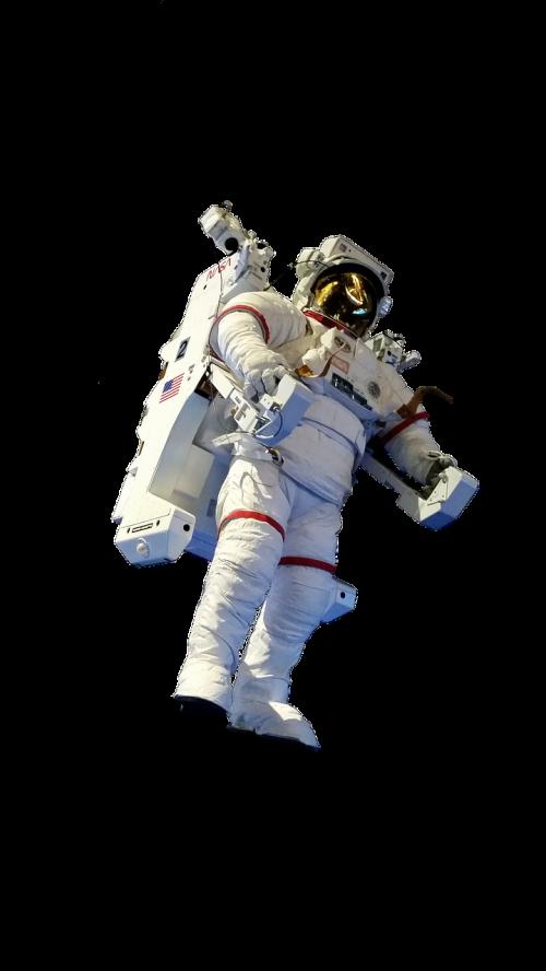 Astronautas, Izoliuotas, Kosmoso Kelionės, Nasa, Dėvėti Apsauginius Drabužius, Astronautika, Kostiumo Kostiumas