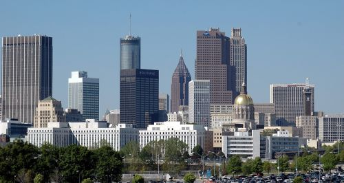 Atlanta & nbsp, Gruzija, kraštovaizdis, miesto, miestas, pastatai, architektūra, turizmas, kelionės & nbsp, paskirties vieta, žinomas, istorinis, Atlanta, Gruzija