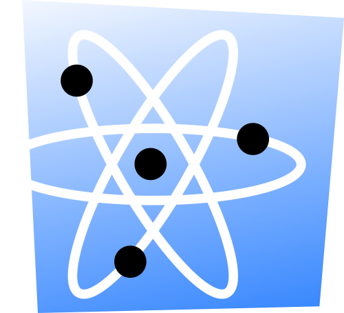 atomo branduolys,atominis branduolys,atomas,atominė,elektronai,orbita,Orbita,mokslas,fizika,chemija,nemokama vektorinė grafika