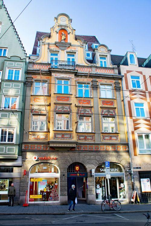 augsburg,bavarija,Vokietija,swabia,Senamiestis,lankytinos vietos
