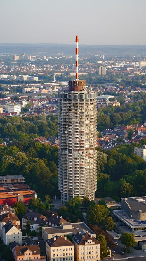augsburg,viešbučio bokštas,swabia,kukurūzų burbuolės