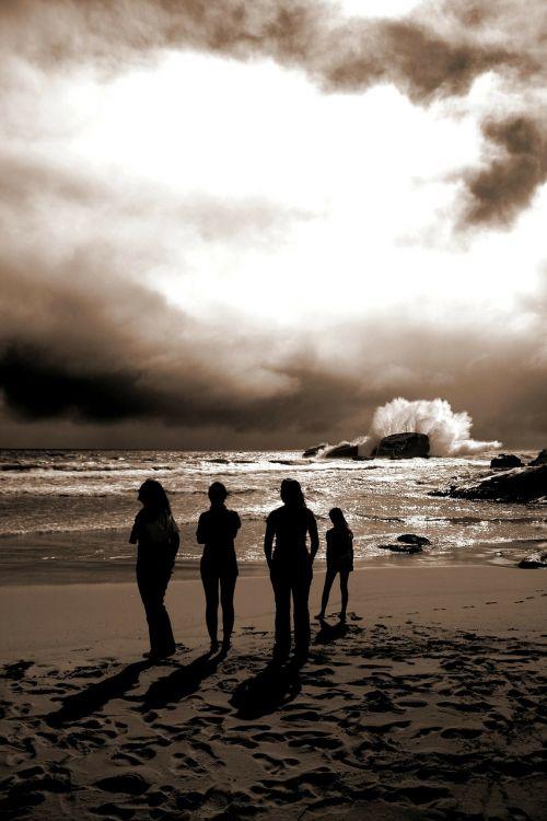 australia,Indijos vandenynas,Vakarų Australija,paplūdimio žmonės,bangos,vandenynas,smėlis,banga,gamta